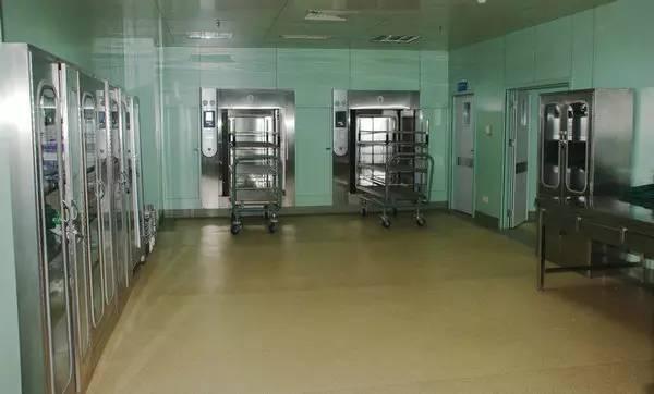 消毒供应中心。