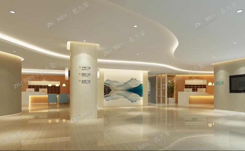 杭州菁华妇儿医院室内设计方案