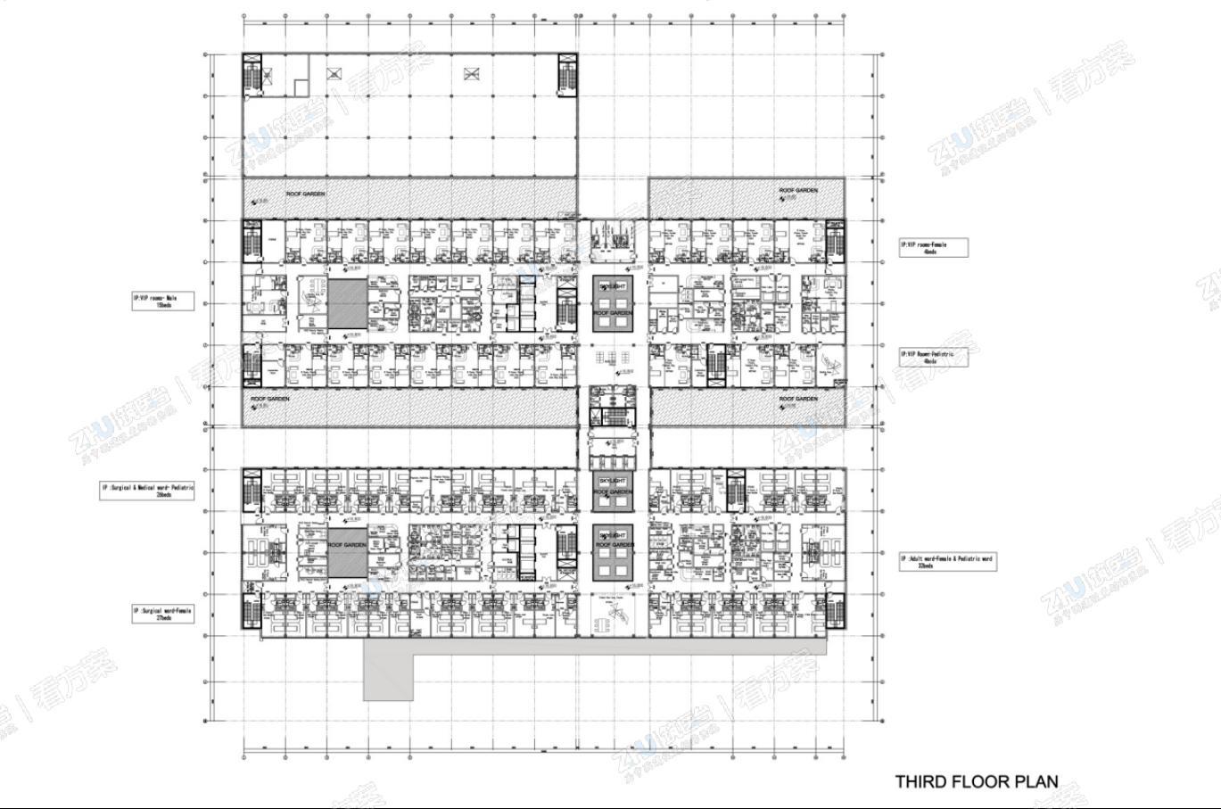 科威特HAHC医保医院 | 独特前卫的当代建筑造型