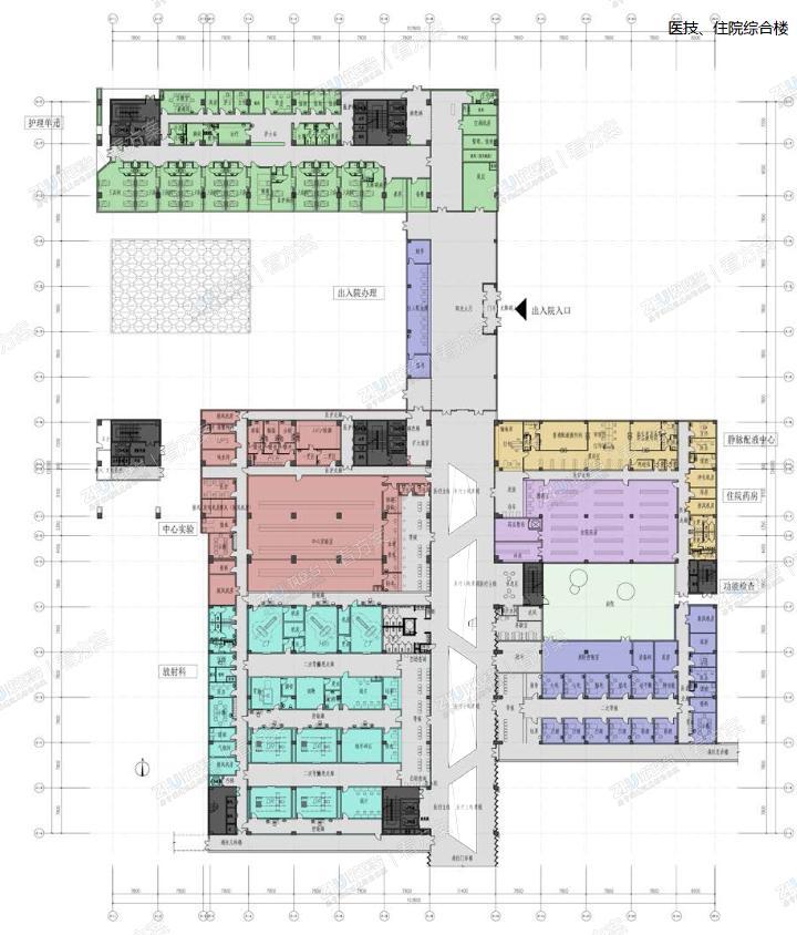 那曲地区人民医院改扩建项目 | 藏地医院中的典范
