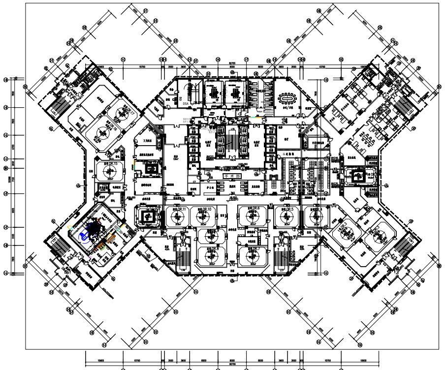 手术室平面布局图