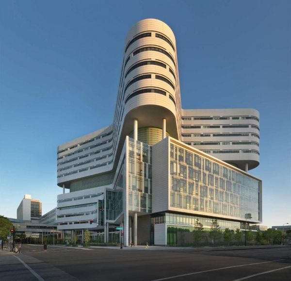 美国芝加哥拉什大学医学中心建筑设计,全是高清大图