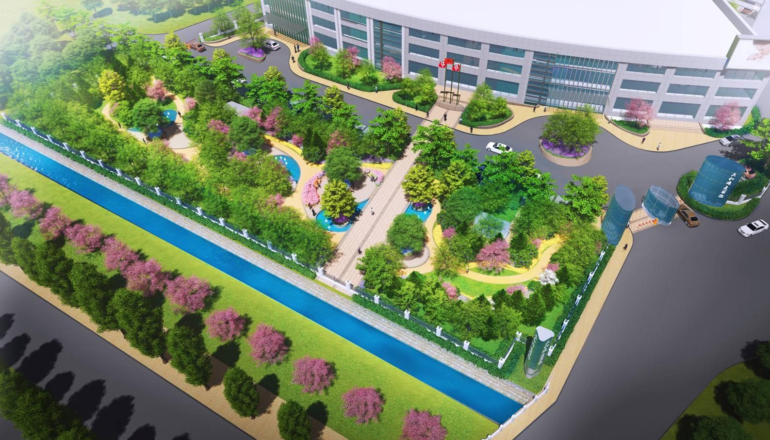 这哪是医院景观设计,明明是公园好吗?