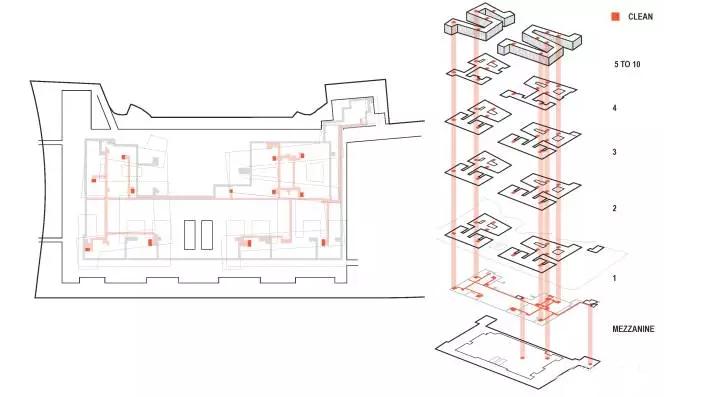 湘雅之作!中南大学精诚五医院真正实现了建筑设计的中西结合小型火力发电厂典型设计图图片