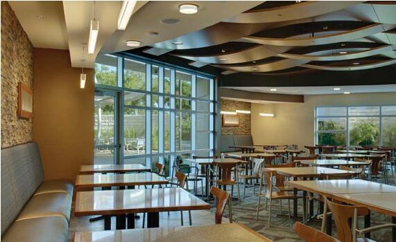超暖心的医院食堂设计就是这么高大上!