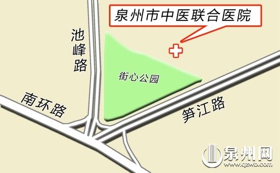 中医联合医院下月开建(预计两年内建成)