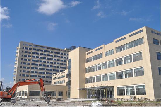 TOB陶板医疗系统项目——上海奉贤医院