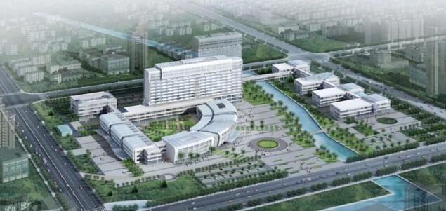 上海复旦大学附属金山医院二期工程开工