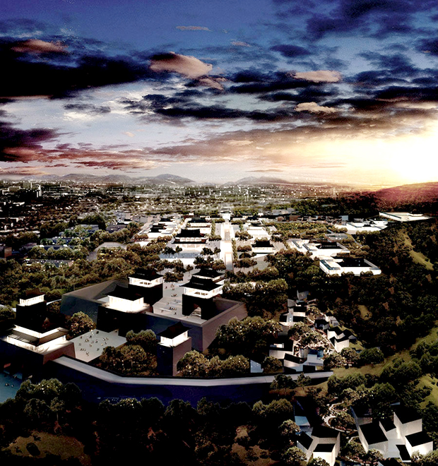 IAPA公司建筑结构设计师演绎的不同建筑