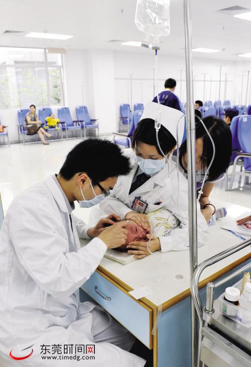 东莞市人民医院新院门诊、体检中心昨天正式搬迁启用