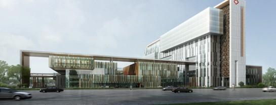 中西文化交融的本土化医疗建筑实践