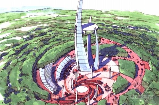 [合肥]城市森林公园景观初步概念设计方案