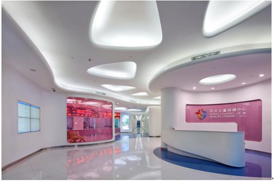 天津市妇女儿童保健中心-最佳医院室内设计文化创意项目 设计说明