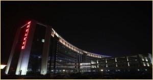 住院部夜景