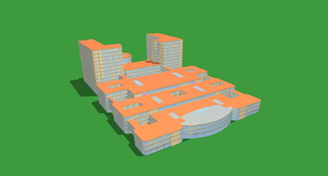 建筑热工模型