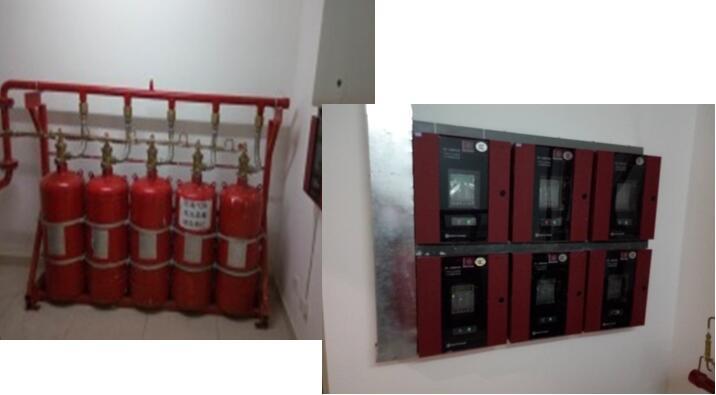 消防系统--七氟丙烷气体灭火系统自动灭火装置