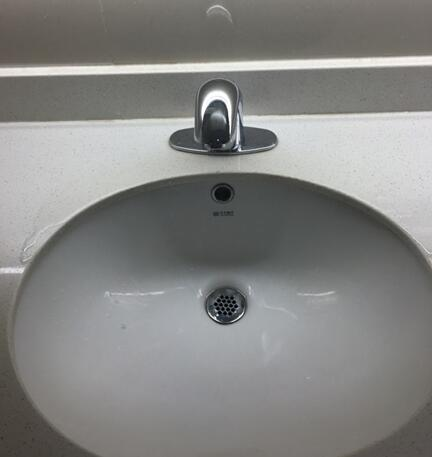 生活热水系统--感应水龙头